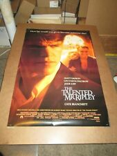 The Talented Mr Ripley style 1 1999 Ss one sheet - 27x40 rolled - free shipping