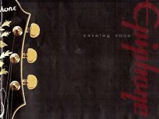 EPIPHONE Guitar Catalogue, 2006, Good Condition