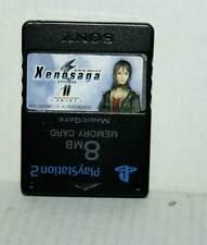 MEMORY CARD PS2 8MB USATA OTTIMO STATO NERA RICAMBIO ORIGINALE SONY MC5 48359