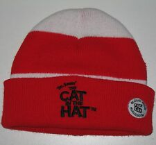 The Cat in the Hat Beanie Tuque Winter Hat Baby Child Size Dr. Seuss