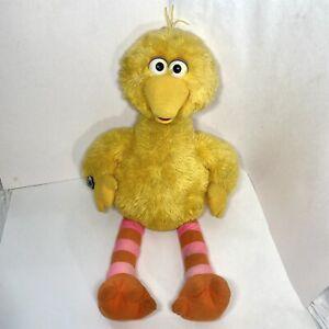 "Big Bird Vintage Applause Sesame Street 32"" Large Yellow Stuffed Plush Doll 1992"