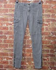 American Eagle 2 Grey Jeans Denim Stretch Cargo Skinny Slim Casual Pockets