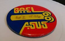 Vintage Gael Asus Art & Science Educational Society pin button Learning arts htf