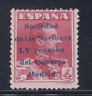 ESPAÑA (1929) NUEVO CON FIJASELLOS MLH - EDIFIL 466 (4 pts)  LOTE 1