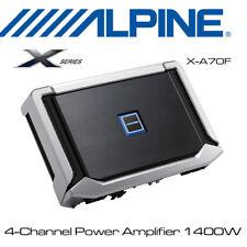 Alpine X-A70F - X-Series 4-Channel Power Amplifier 1400W Power