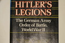 WW2 German Army Order Of Battle World War II Legions Reference Book