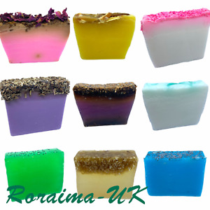 Handmade ENGLISH SOAP Handcrafted Body Hand Face Natural Scented Wash Bath UK A1