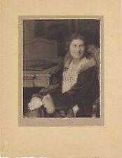 Portait d'une femme par Victor de Bont Paris Vintage silver print ca 1925