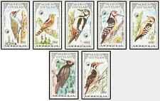 Timbres Oiseaux Mongolie 1500/6 ** lot 19735