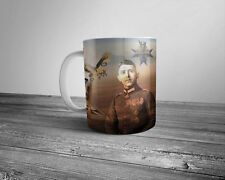 WW1 Flying Ace Max Immelmann 11oz coffee mug Pour le Mérite Imperial German Army