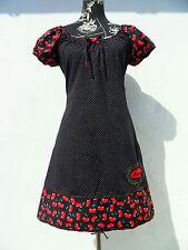 Damenkleider im Asymmetrisch-Stil mit Baumwollmischung für Freizeit