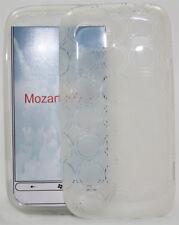Boîtier silicone pour HTC MOZART hd3 Transparent Sac Étui Housse Silicone bag