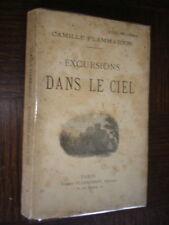 EXCURSIONS DANS LE CIEL - Camille Flammarion - Astronomie