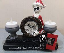 The Nightmare Before Christmas Santa Jack Skellington Tea Lite (Led cracked neck