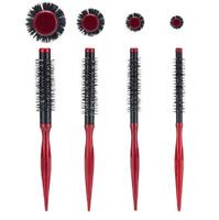 Hair Round Brush Quiff Roller Comb DIY Hairstyle Hairdressing Hairbrush Tube