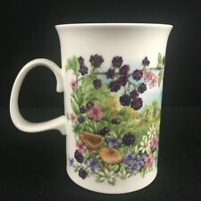 VTG Mug Dunoon Hedgerow Fruits Blackberry Jane Fern Fine Bone China England
