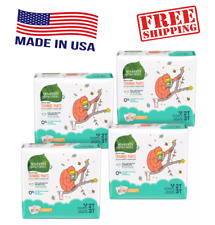 Seventh Generation Free & Clear Training Pants Diapers Size 2T-3T, 3T-4T, 4T-5T