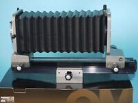 Olympus Balgengerät OM Auto Bellows mit Einstellschlitten (neuwertig)