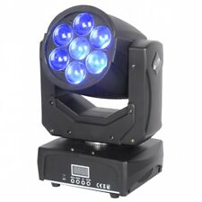ETEC LED Zoom Moving Head 7Z - 7x15 Watt RGBW 4in1 Beam Washer Zoomfunktion