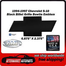 1994-1997 Chevrolet S-10 Black Powder Coat Bowtie Grille Emblem AMI 96025K