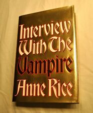 ANNE RICE INTERVIEW WITH THE VAMPIRE, 20 th Anniversary edition, signed