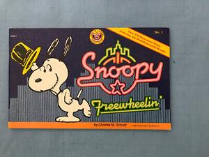 Comic Snoopy Freewheelin 1985 By Charles Schultz