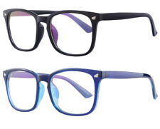 2 Pack Anti-Blue Light Optical Computer Glasses Fashion Men Women Spectacles