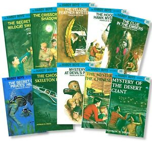 The Hardy Boys Hardcover Set (Volumes 31-40) by Franklin W. Dixon