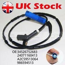 For BMW 3 Series (E46) 1998-2006 Blue Plug ABS Wheel Speed Sensor Rear  L / R UK