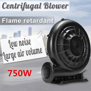 610W 750W 220V Electric Air Fan Blower Pump Inflatable Screen Jump Castles