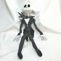 "Disney Nightmare Before Christmas Jack Skellington 26"" Poseable Plush Doll Toy"