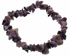 Charoite Gemstone chip bracelet