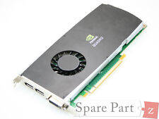 Original DELL Precision nVIDIA Quadro FX3800 Grafikkarte Video Card 1GB X9YDW