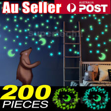 Zooyoo ISOMA139 Glow In The Dark Stars Home Wall Stickers - 200 Piece