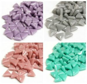 10mm Mosaic Triangles in a Choice of Colours - 50g