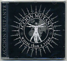 Action Mutant-worse than a virus CD Recharge Audio collapse ENT Crust HC Punk