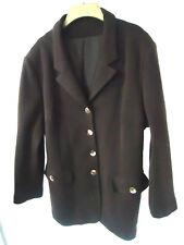Hamells Brown Wool Blend Blazer Jacket Size 18