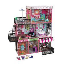 KidKraft Brooklyn's Loft Dollhouse Girls Charming Uptown Cool Fantasy Toy New.
