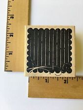 Memory Box Rubber Stamps - Flourish Background - D1384 - NEW