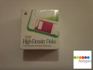 Apple High-Density 1.44MB Floppy Disks - Pack of 10 in New Sealed Box M8169LL/A