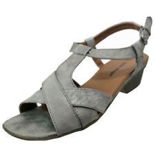 Sandalias y chanclas de mujer sin marca color principal gris