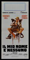 Plakat die Meine Name E' keine Sergio Leone Terence Hill 1 Ed. 1973 N06