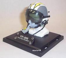 Mini US.Navy VF-202 HGU 55/P Flight / Flying Helmet & MBU 12/P Oxygen Mask (218)