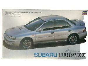 Subaru WRX Impreza 1/24 Road Car Hasegawa Hobbies Kit