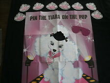 Pin the Tiara on the pup, Great party game for the kids