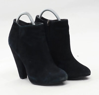 Topshop Womens EU Size 38 Black Leather Ankle Boots
