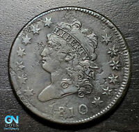 1810 Classic Head Large Cent --  MAKE US AN OFFER!  #B5629