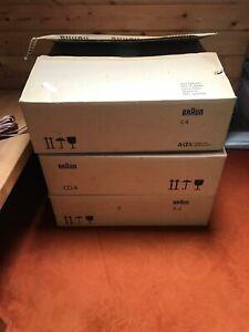 Braun Stereoanlage, Neu Originalverpackt, R4 +C4 +CD4