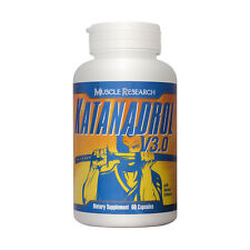 Katanadrol V3.0 by Muscle Research 60 Capsule Bottle