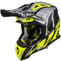 Airoh Great Yellow Aviator 2.3 MX Helmet Motocross Enduro XS S M L XL